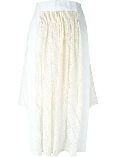 асимметричная кружевная юбка  Nº21