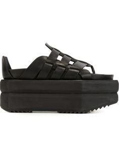 сандалии на платформе  Rick Owens