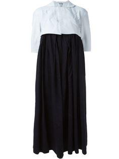 платье с высокой посадкой  Comme Des Garçons
