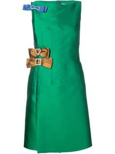 платье с декоративным бантом Lanvin