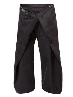 свободные укороченные брюки  Anrealage