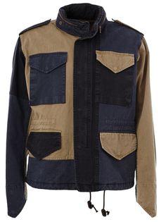 куртка Beacon лоскутного кроя Kolor