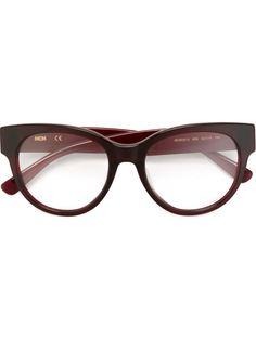 оптические очки в круглой оправе MCM