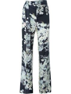 классические брюки с цветочным принтом Calvin Klein