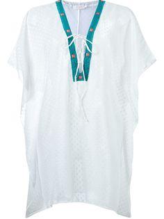 пляжное платье с вышивкой Brigitte