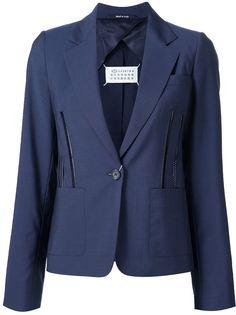 пиджак с декоративными молниями Maison Margiela