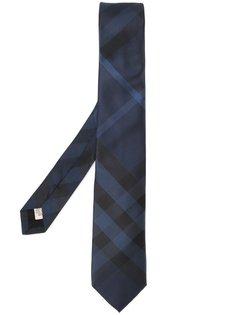 галстук с клетчатым узором Burberry