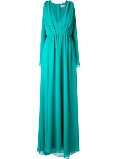драпированное вечернее платье MSGM