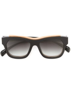 солнцезащитные очки с контрастной окантовкой  Marsèll