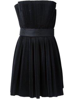 плиссированное платье  Capucci