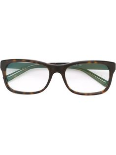 оптические очки в прямоугольной оправе Bulgari