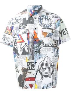 рубашка с принтом Newspaper KTZ
