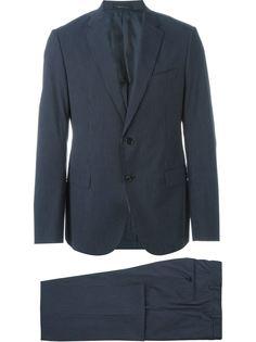 классический костюм в полоску Armani Collezioni