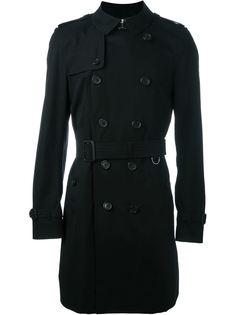классическое двубортное пальто Burberry