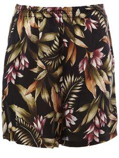 шорты с цветочным принтом  Faith Connexion
