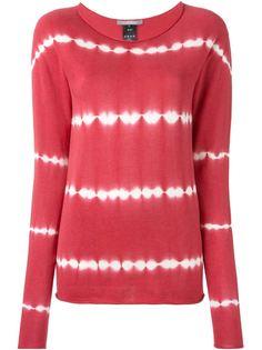 свитер N. Shibori с принтом тай-дай  Suzusan