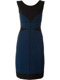 приталенное трикотажное платье Fendi
