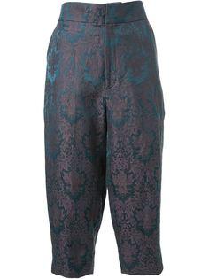жаккардовые брюки  Aganovich