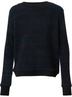 свитер с узором  The Elder Statesman