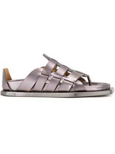 ламинированные сандалии Rick Owens