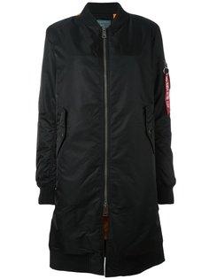 пальто на молнии  Alpha Industries