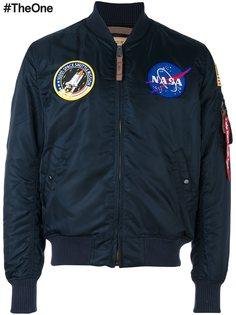 куртка-бомбер NASA MA-1 Alpha Industries