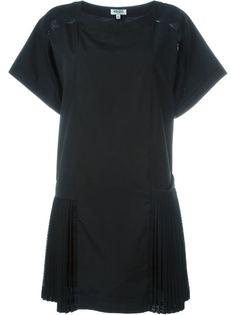 плиссированное платье Tech Kenzo