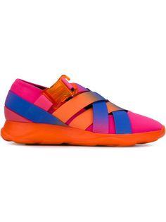 кроссовки с эластичными ремешками Christopher Kane