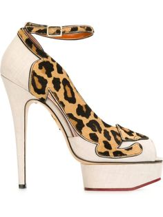 туфли Leopardess  Charlotte Olympia