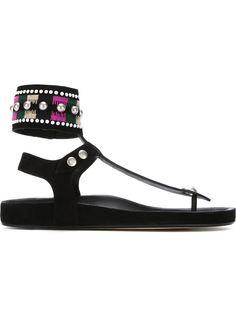 декорированные сандалии Lise Isabel Marant