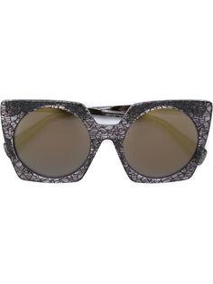 солнцезащитные очки с квадратной оправой Yohji Yamamoto