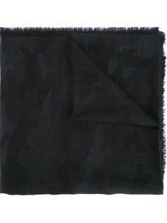 шарф с камуфляжным узором Valentino