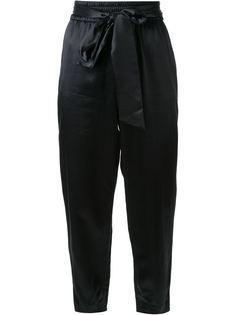 зауженные брюки с завязками на талии Alice+Olivia
