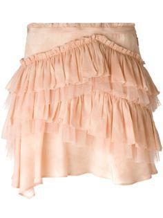 юбка с оборками  Roberto Cavalli