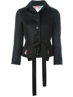 куртка с поясом на талии Maison Margiela