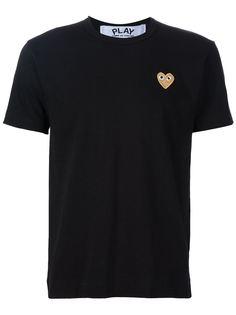 футболка с аппликацией сердца Comme Des Garçons Play
