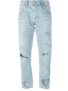 джинсы с потертой отделкой Citizens Of Humanity