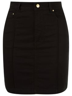 high waist fitted denim skirt Amapô