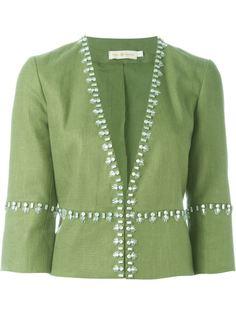 декорированный пиджак Tory Burch