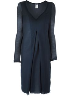 платье со встречной складкой Kristensen Du Nord