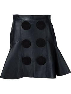 юбка с круглыми панелями Givenchy