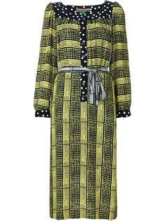 платье-туника с комбинированным принтом  Duro Olowu