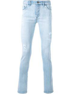 джинсы скинни с линялым эффектом Hl Heddie Lovu