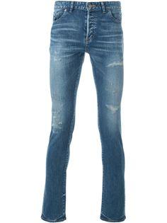 джинсы кроя слим с потертой отделкой Hl Heddie Lovu