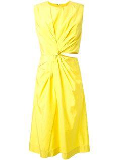 платье Habotai  Jil Sander