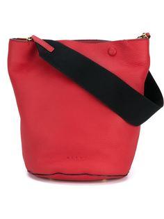 мини сумка-мешок с контрастной лямкой Marni