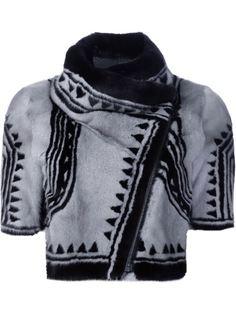 укороченная байкерская куртка Geo  Yigal Azrouel