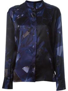 рубашка с геометрическим принтом Ilaria Nistri