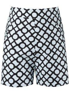 шорты с геометрическим узором Andrea Marques