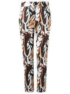 брюки с завышенной талией Andrea Marques